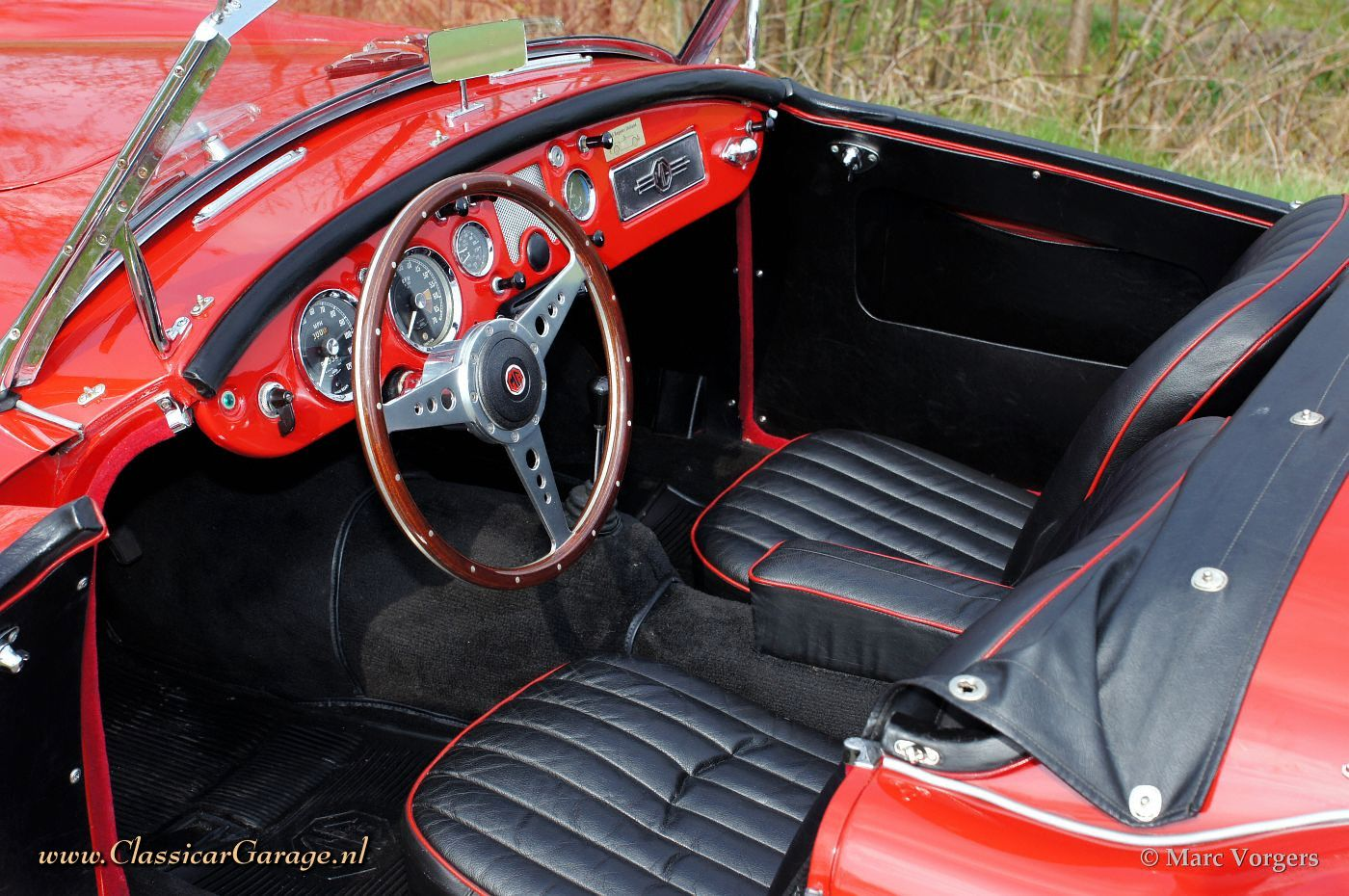 Mg mga 1600 roadster 1959 details for Interior pictures