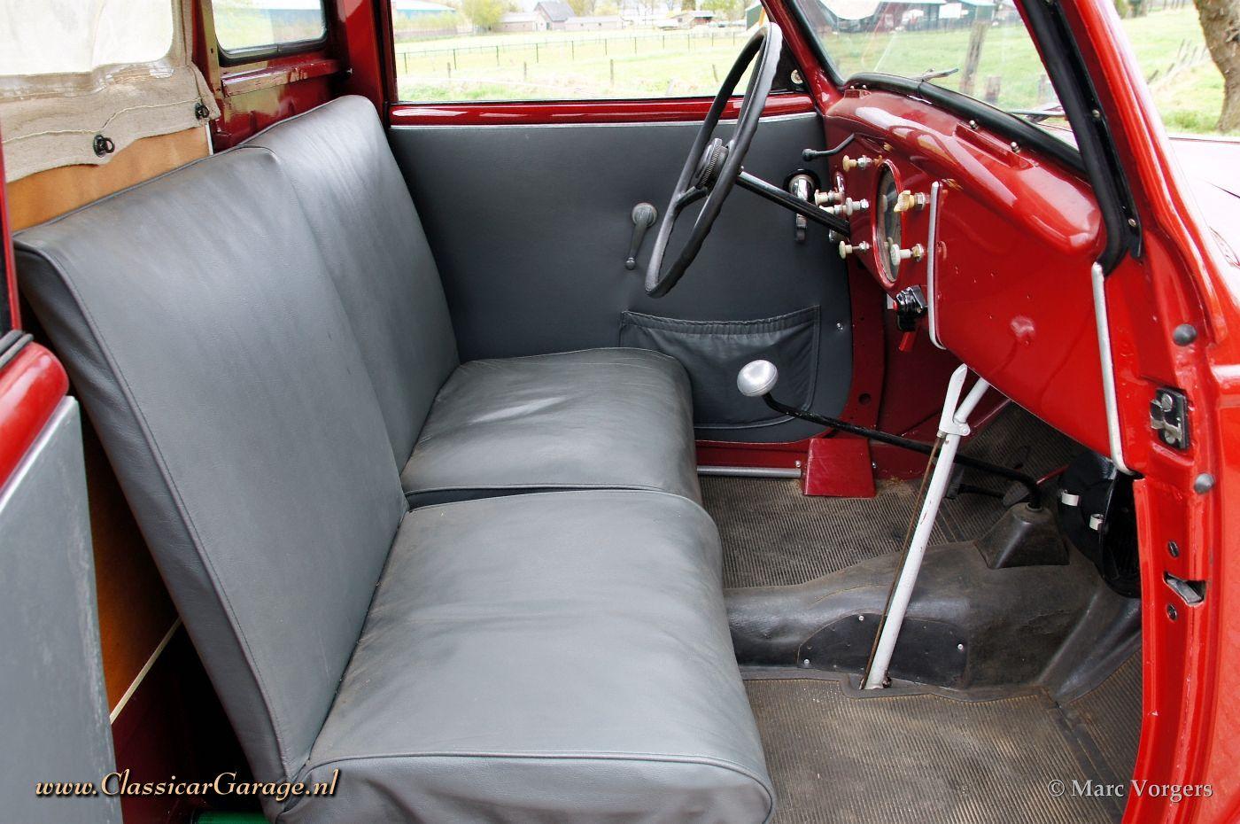 Peugeot 202 camionette 1947 details for Peugeot 907 interieur
